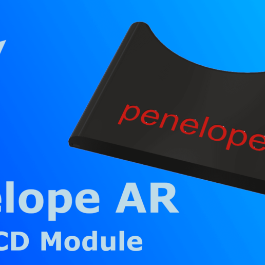 "Download free 3D printer designs Penelope AR 5"" LCD Module, indigo4"