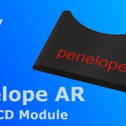 "Download free STL file Penelope AR 5"" LCD Module • 3D printer template, indigo4"