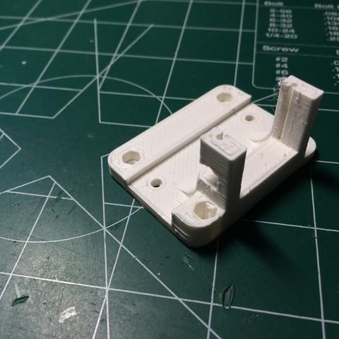 6dc1c72a8e4e2866fd5628c2fe0ef4e7_display_large.JPG Download free STL file XYZ DaVinci Pro E3D V6 Bed Auto Leveling Mod • 3D printing template, indigo4