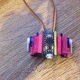 Download free 3D printing designs Dual servo combo with Arduino Pro Micro mount, indigo4