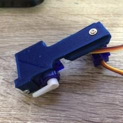 Free 3D print files 2-Servo Combo Arm, indigo4