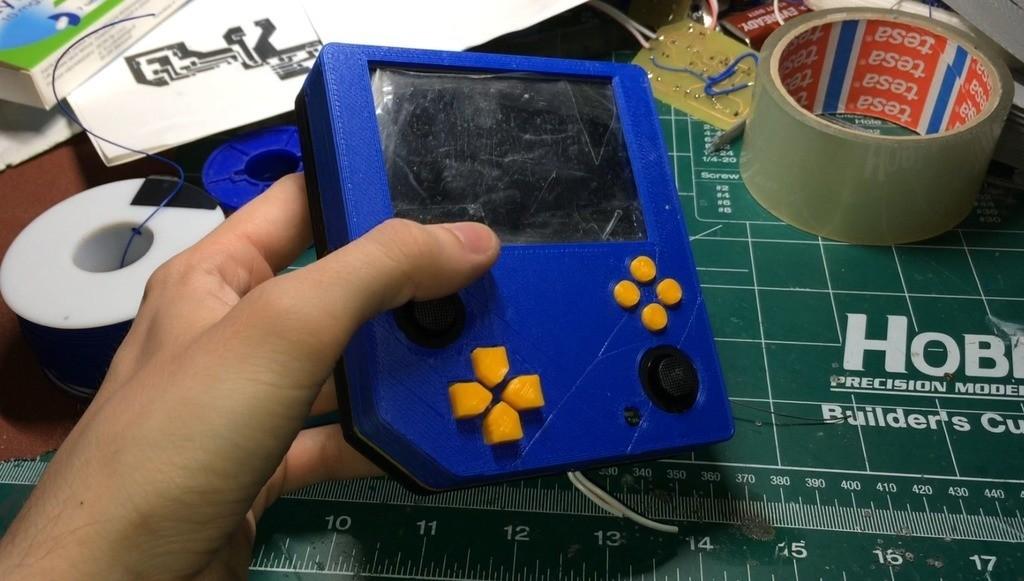 0893b63155de0208471dad1fac58d0ae_display_large.jpg Télécharger fichier STL gratuit Pocket Wii | Nintendo Wii portable • Objet pour impression 3D, indigo4