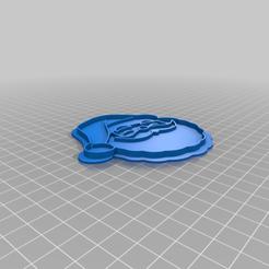 Télécharger fichier imprimante 3D gratuit Coupe-biscuits du Père Noël, indigo4
