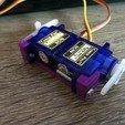 Télécharger modèle 3D gratuit 2-Servo Support Combo, indigo4