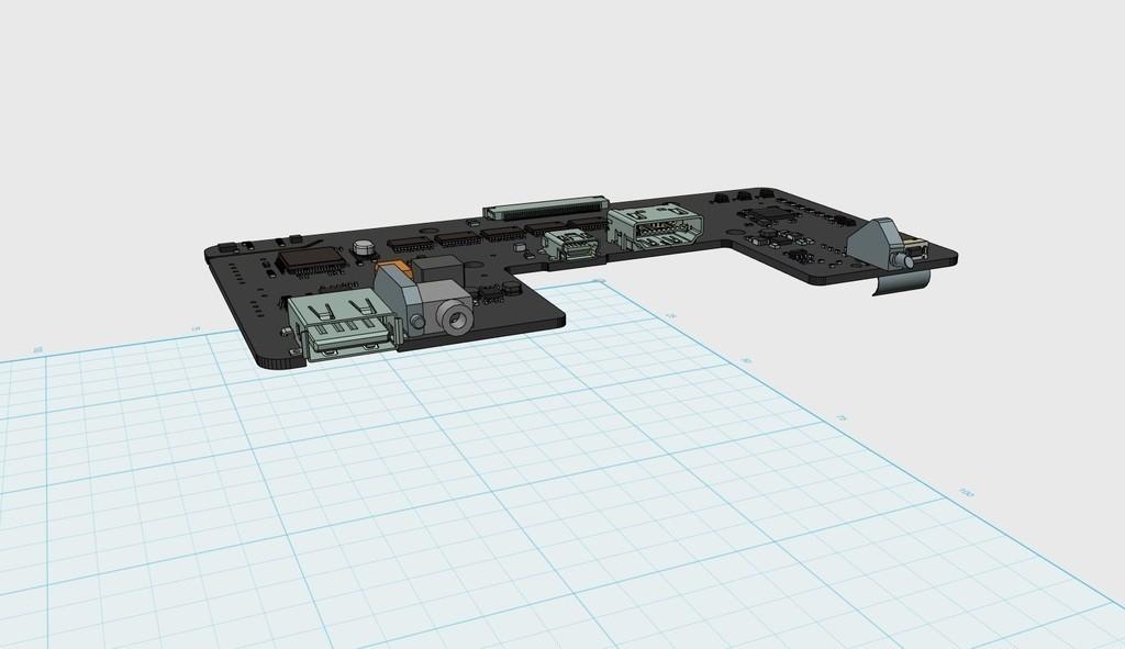 22691c7333930eb5d5eea563ea69c597_display_large.JPG Télécharger fichier STL gratuit Carte mère Oculus Rift DK2 • Objet à imprimer en 3D, indigo4