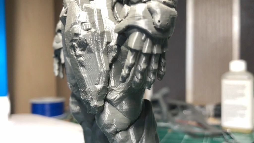 da77c003f574079e8ac1d09d7c8121f6_display_large.jpg Download free STL file Visor Statue (Quake Champions) • 3D printer template, indigo4