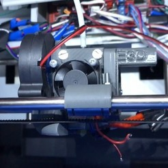 Free 3D printer designs E3D Extruder, indigo4