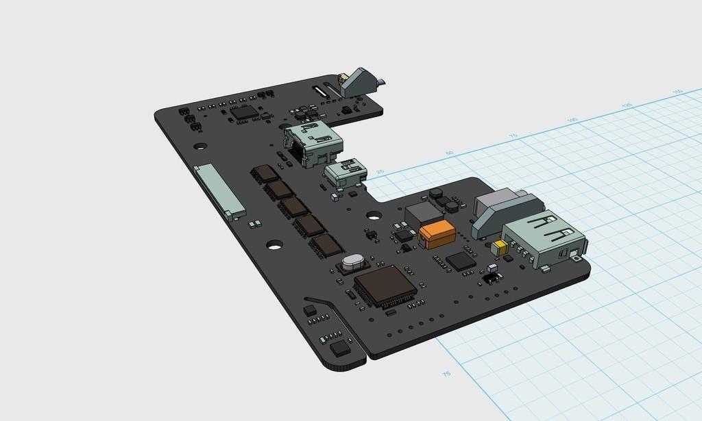 b596f2b612e67fa27143831aca815223_display_large.JPG Télécharger fichier STL gratuit Carte mère Oculus Rift DK2 • Objet à imprimer en 3D, indigo4