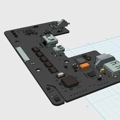 Download free 3D printing models Oculus Rift DK2 Motherboard, indigo4