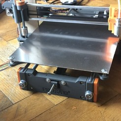 Free STL Prusa I3 XL Printing Bed, indigo4