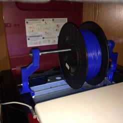 Download free STL file XYZ DaVinci PRO Topside Spool Holder, indigo4