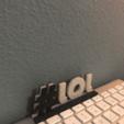 Download free 3D printing designs Internet Slang Hashtags, SIGNMAK