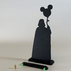 IMG_7243.JPG Télécharger fichier STL gratuit silhouette du ballon de Dark Vador 200 mm de la guerre des étoiles • Modèle imprimable en 3D, SIGNMAK