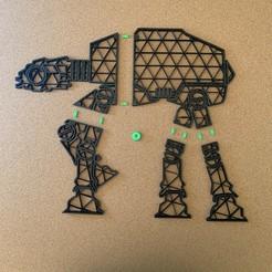B9F46ACE-ED9E-4D57-A0A4-4EC0B8258C57.jpeg Télécharger fichier STL star wars AT-AT Wall Decoration 400x326mm • Design à imprimer en 3D, SIGNMAK