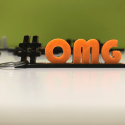 Download free 3D printing designs Internet Slang Hashtags, SIGNMAK