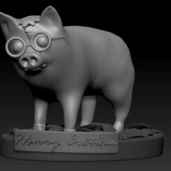 2021-01-22_00-13-55.jpg Download STL file Harry Crotter • Design to 3D print, patjerak