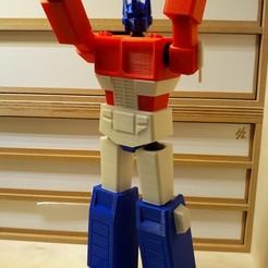 3D printer files Low Poly Optimus Prime, Eliot