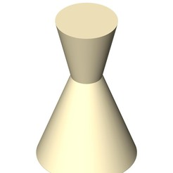 STL DoubleCone vase (codename: 6-1), 1aleksandart