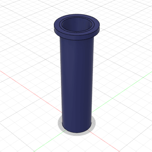 Download free 3D printing files Ender 3 filament holder extension, PilotDog
