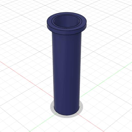 Descargar Modelos 3D para imprimir gratis Extensión del portafilamentos Ender 3, PilotDog