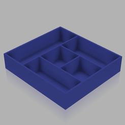 Download free STL file Drawer_distributor_220x240mm • 3D print template, PilotDog