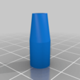 Download free 3D printer designs Simple mouthpiece cigarette, PilotDog