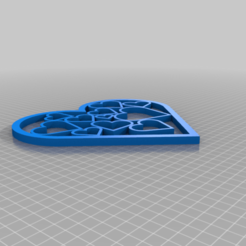 Download free STL file Heart with hearts • 3D print object, PilotDog