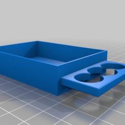 Download free 3D print files Drawer shelf 50x70x15mm screws, PilotDog