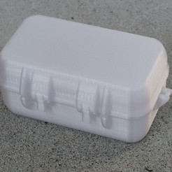 Free 3D printer files Rugged Storage Box v2, zx82