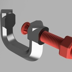 Free 3D printer files Customizable G-Clamp with Stress Model, zx82