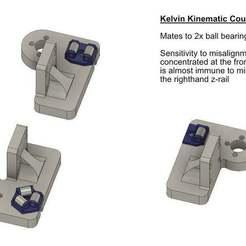 Descargar diseños 3D gratis Montaje en cama cinemática Railcore II, zx82