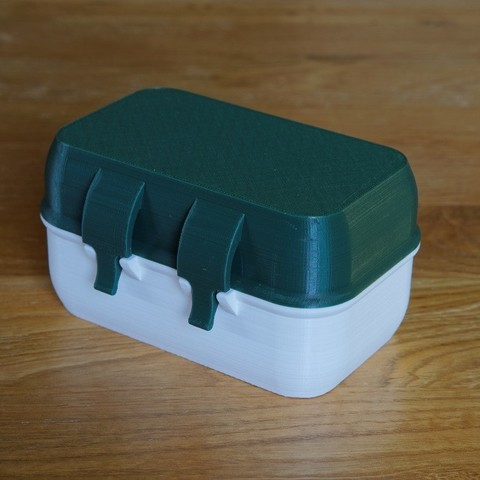 Download free 3D printing templates Rugged Storage Box ~ IP52, zx82