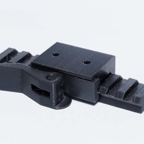 Download free 3D print files Quick release Picatinny Rail Mount, zx82