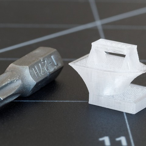 Download free 3D printing designs Super Tiny Test Piece, zx82