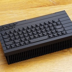 Free STL files Raspberry Pi 3 B+ Retro ZX Spectrum+ Case, zx82