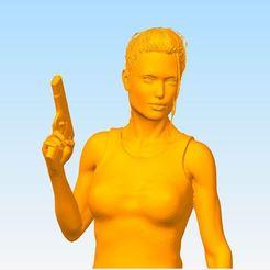 Download free STL file Lara • Model to 3D print, JMLprint