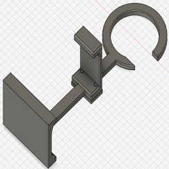phone_holder_hook_0.png Download free STL file Phone hook / holder • 3D print model, intommy