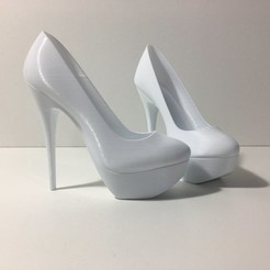 Download STL High Heel Platform, JOlivier
