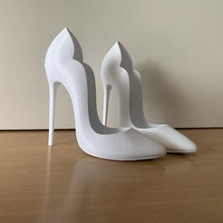 Download 3D printer designs Sexy High Heel, JOlivier