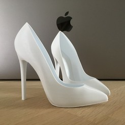 Download 3D printer designs High heels Pump, JOlivier