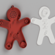 Download free 3D printing models Gingerbread Man Speaker Christmas Gift for Family and Friends, vrodionov