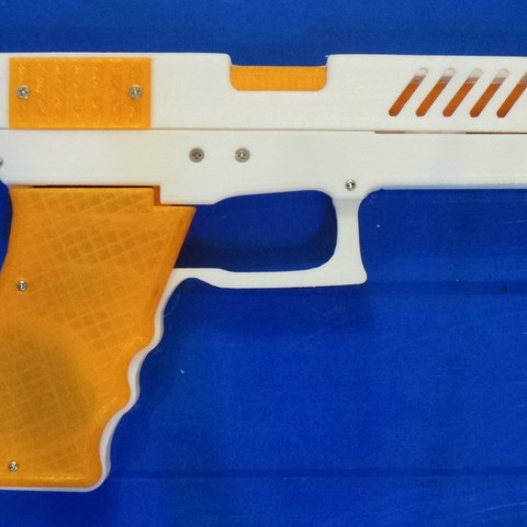b27560c16b8c75eda6240aae7a2d5938_display_large.JPG Download free STL file Rubber band gun with Blowback action • 3D printing template, esignsunny
