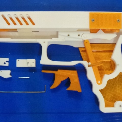 9ddc59e646ac4e0ee88543caa6bb51dc_display_large.JPG Download free STL file Rubber band gun with Blowback action • 3D printing template, esignsunny