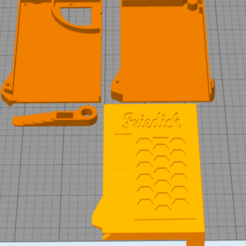 Download free 3D printer designs Wallet Card holder , djcloony