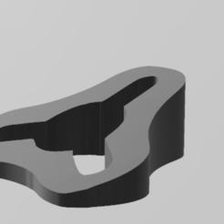 inclinador volante.png Télécharger fichier STL SUPPLÉMENT POUR L'INCLINAISON DU VOLANT DES KARTS • Modèle imprimable en 3D, cachomru