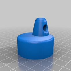 1860e63567d0bb389f52c05459eb2560.png Download free STL file Cap for the Utility Survival Capsule ID30_cap - made with hole for string • Template to 3D print, Lammesky
