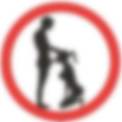 Blowjob Zone.png Download STL file Blowjob Zone - funny sign • 3D printing object, Lammesky