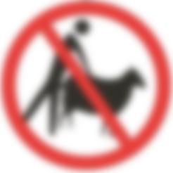 Download STL files No sheep fucking - funny sign, Lammesky