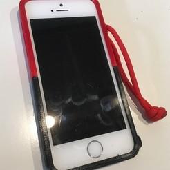 Descargar archivos 3D Cubierta de Iphone 5 / SE - resistente a los impactos, Lammesky
