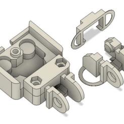 Bed_Chan_link.png Télécharger fichier STL gratuit Couverture originale Prusa MK2-MK3 Heatbed et petit maillon de chaîne • Objet pour impression 3D, Lammesky